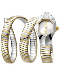 Just Cavalli Women's Stainless Steel Watch - Multicolour