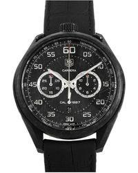 Tag Heuer Tag Heuer Men's Aquaracer Aquagraph Watch - Black
