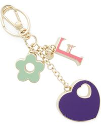 Furla - Cuore Keyring Charms - Lyst