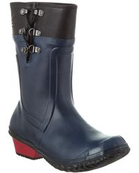 Sorel Conquest Carly Glow Waterproof Leather Boot - Blue