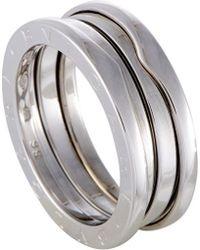 BVLGARI Bulgari B.zero1 18k Ring - Metallic