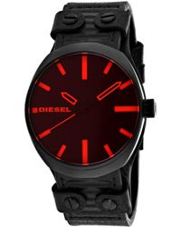 DIESEL Men's Klutch Watch - Red
