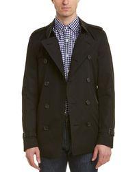 Burberry Sandringham Short Trench Coat - Black
