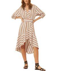 Ba&sh Nastasia Midi Dress - Natural