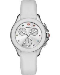 Michele Women's Cape Chrono Watch - Metallic