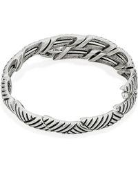 ALEX AND ANI Silver Wrap Bracelet - Metallic