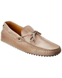 Tod's - Gommino Leather Loafer - Lyst