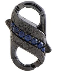 Stephen Webster Silver & Rhodium 0.82 Ct. Tw. Sapphire Clasp - Metallic