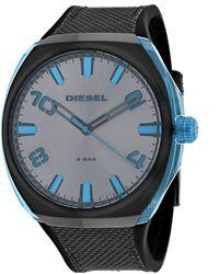 DIESEL Men's Stigg Watch - Blue