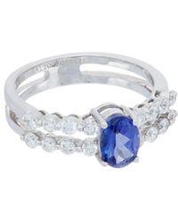 Diana M. Jewels - . Fine Jewelry 18k 1.83 Ct. Tw. Diamond & Tanzanite Ring - Lyst