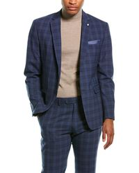 Original Penguin 2pc Wool-blend Suit - Blue