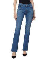 J Brand Sallie Mid - Rise Bootcut Jeans In Arcade - Blue