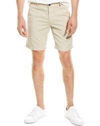 AG Jeans Wanderer Linen-blend Short - Natural