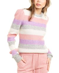 Generation Love Brielle Mohair & Wool-blend Sweater - Pink