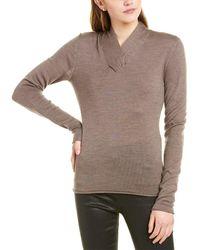 Brochu Walker Roe Wool Sweater - Brown