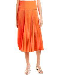 A.L.C. Hedrin A-line Skirt - Orange