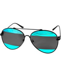 Aquaswiss - Aqs Unisex Tommie 60mm Polarized Sunglasses - Lyst