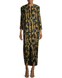 Zero + Maria Cornejo Print Shift Dress - Black