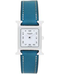 Hermès 2000s H Watch - Blue