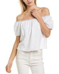 Bella Dahl Off-the-shoulder Top - White