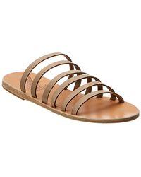 Ancient Greek Sandals Sandals Liston Leather Sandal - Brown