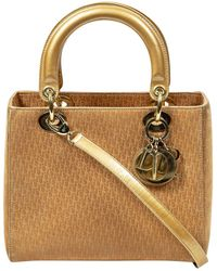 Dior Gold Issimo Suede Lady - Multicolour
