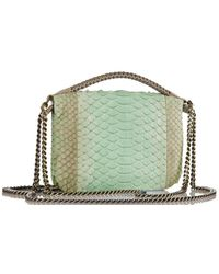 Nada Sawaya - Bibi Mini Python Mini Bag - Lyst