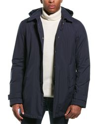 Herno Hooded Down Parka - Blue