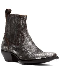 Frye Sacha Leather Chelsea Boot - Black