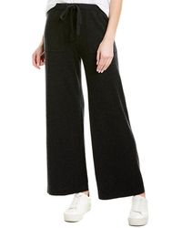 Vince Wool & Cashmere Wide Pant - Gray