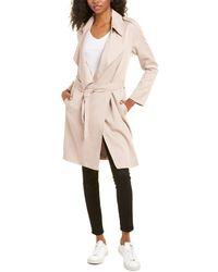 AllSaints Allsaints Bexley Mac Trench Coat - Pink