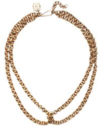 Soko - Chain Loop Necklace - Lyst