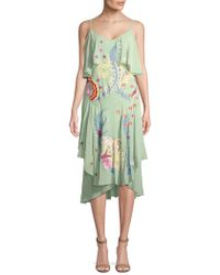 Temperley London - Chimera Mixed Print Ruffle Dress - Lyst