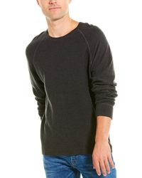 James Perse Thermal Raglan Top - Grey
