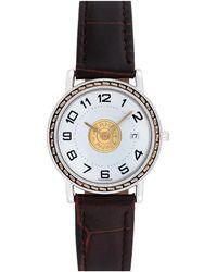 Hermès Hermes Sellier Watch, Circa 2000s - Black