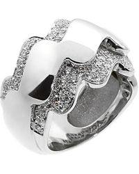 Van Cleef & Arpels Vintage - Van Cleef & 18k 1.00 Ct. Tw. Diamond Ring - Lyst