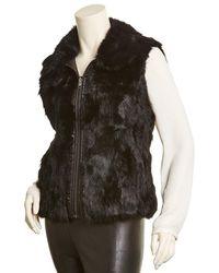 Adrienne Landau Reversible Vest - Black