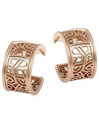 Poiray 18k Rose Gold Drop Earrings - Metallic