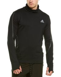 adidas Cold.rdy Cover Up Pullover - Black