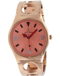 Toy Watch Unisex Only Time Watch - Pink