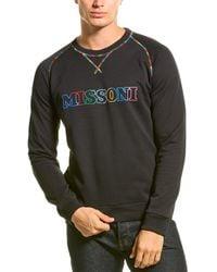 Missoni Logo Sweatshirt - Black