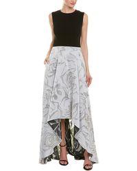 ESCADA Silk-blend Gown - Gray