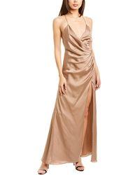 Fame & Partners The Zarita Maxi Dress - Natural