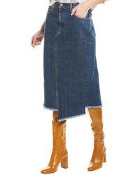 Rag & Bone Sukato Pencil Skirt - Blue