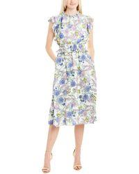 Julia Jordan Midi Dress - White
