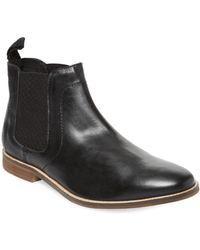 Ben Sherman Gabe Chelsea Boot - Black