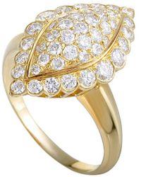 Van Cleef & Arpels Vintage - Van Cleef & Arpels 18k 1.31 Ct. Tw. Diamond Ring - Lyst