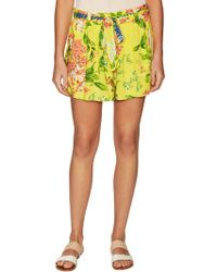 Plenty by Tracy Reese - Daytime Print Belted Short - Lyst