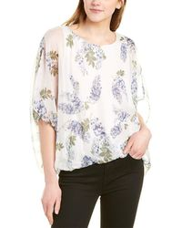 Vince Camuto Weeping Willows Top - White