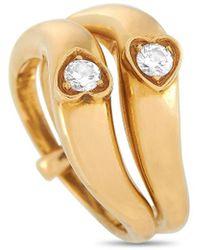 Van Cleef & Arpels Vintage Van Cleef & Arpels 18k 0.22 Ct. Tw. Diamond Ring - Metallic